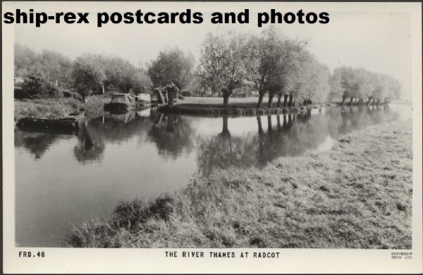 Radcot - The River Thames, Frith's postcard (a)